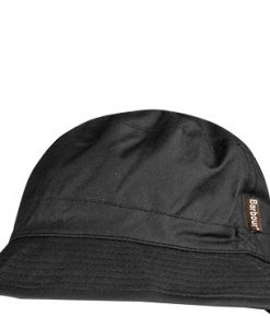 Barbour Wax Sports Hat black MHA0001BK91
