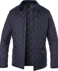 Barbour Jacke Heritage Liddesdale navy MQU0240NY92