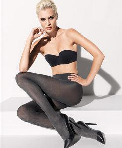 Wolford Harris Tights beluga-harris 18972/9884