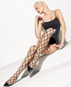 Wolford Cilia Tights sahara-black 18998/8458