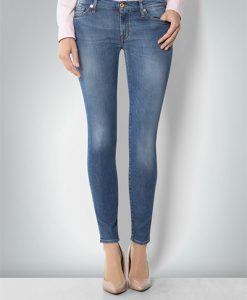 7 for all mankind Damen Skinny Silk SWTL160SQ