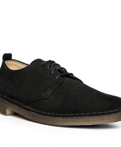 Clarks Desert London black suede 26107883G