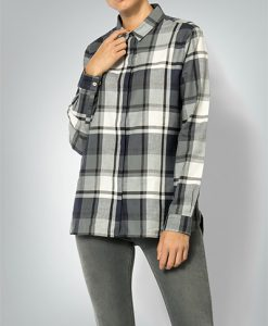 Barbour Damen Bluse grey/navy LSH1187GY34